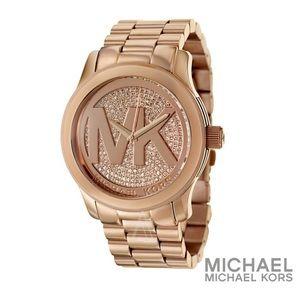 MK Runway MK5661 Rose Gold watch.